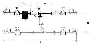 Схема элеваторного узла отопления