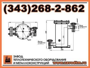 Фильтр сетчатый жидкостный ФСЖ 40-80-3